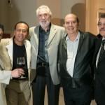 Wálter, Josué, Helvécio, Afonso e José Maria