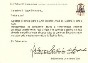 CARTÃO DE DOM WALMOR CORTADO